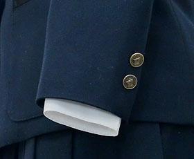 袖のボタン